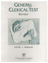 General Clerical Test Revised Manual